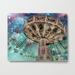Dip Your Toes In the Stars Metal Print