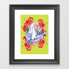 Deathvslife5 Framed Art Print