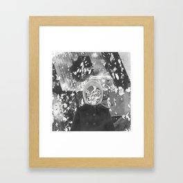 inside a coma Framed Art Print