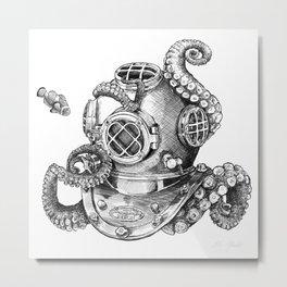 The Barista Metal Print