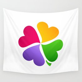 Love Luck Wall Tapestry