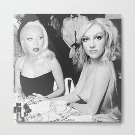 Feud: Britney and Xtina Metal Print