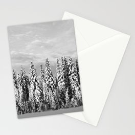 Spruce After Snow Storm Stationery Cards