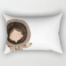 Cute eskimo Rectangular Pillow