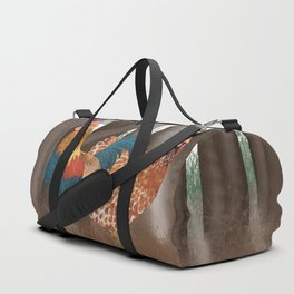 Hen and Rooster Duffle Bag