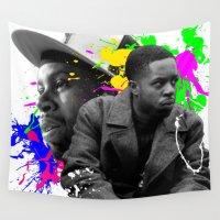 infinity Wall Tapestries featuring Infinity by Kerosene Bill