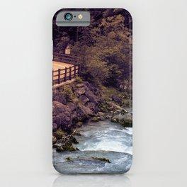 Fassa Valley iPhone Case