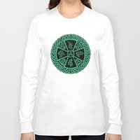 celtic Long Sleeve T-shirts featuring Celtic Nature by Astrablink7