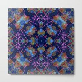 Ornate Mosaic Metal Print