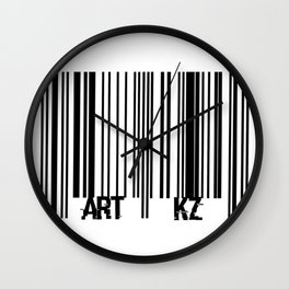 """BarCode"" Wall Clock"