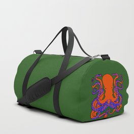 The Cunning Octopus Duffle Bag