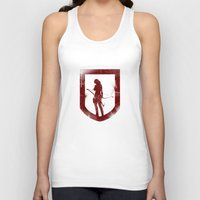 tomb raider Tank Tops featuring Tomb Raider III. by 187designz