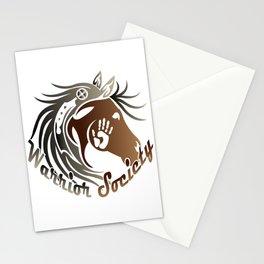 Warrior Society (Horse) Stationery Cards