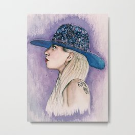 Queen of Pop Metal Print