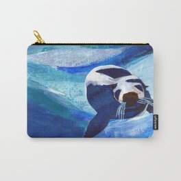 Swimming Seal Carry-All Pouch