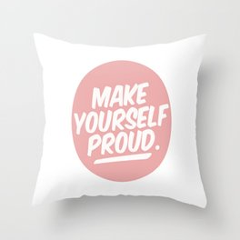 make youreself Throw Pillow