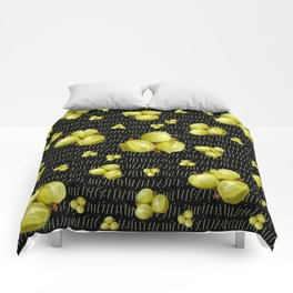 Fresh Green Gooseberry Design Comforters