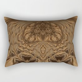 Sequential Baseline Pattern 21 Rectangular Pillow