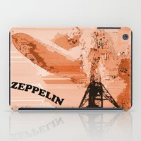 led zeppelin iPad Cases featuring Zeppelin by Avigur