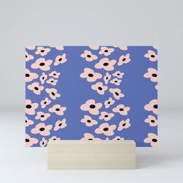 Summer Floral Dream III // Summer Collection // Seamless pattern Mini Art Print