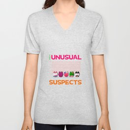 The Unusual Suspects Unisex V-Neck