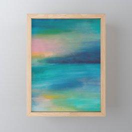 Ocean Sunrise Series, 4 Framed Mini Art Print