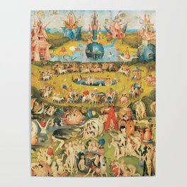 Bosch Garden Of Earthly Delights Poster