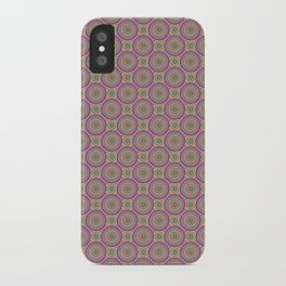 Concentric Circles iPhone Case