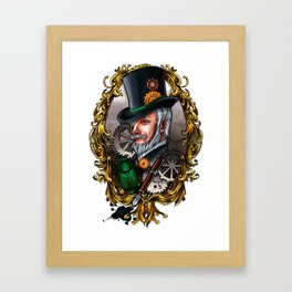 Steampunk Dandy Framed Art Print