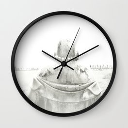ZEN PLACES (center) Wall Clock