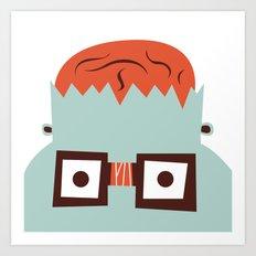 The Monster Club - Monster #4 Art Print