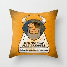 Odin - Odinsleep Mattresses Throw Pillow