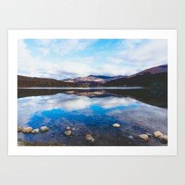 Lago, El Chalten, Patagonia, Argentina Art Print