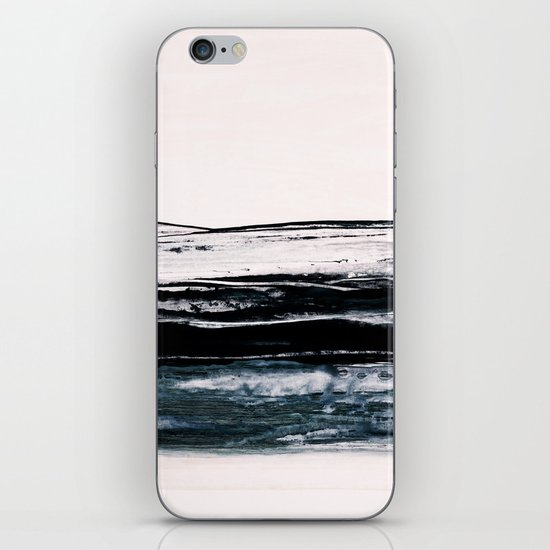 abstract minimalist landscape 9 iPhone Skin