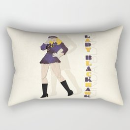 Lady Blackhawk Rectangular Pillow