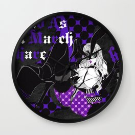 Mad As A March Hare Wall Clock