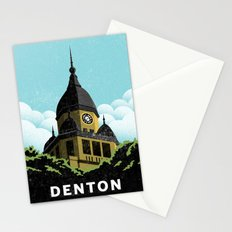 Denton Courthouse  Stationery Cards