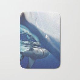 Shark on the Surface Bath Mat