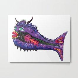 Bull Fish Metal Print