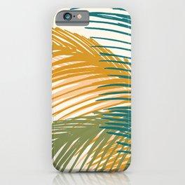 Golden Hour Palms iPhone Case