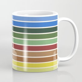 The colors of - Castle in the sky Coffee Mug