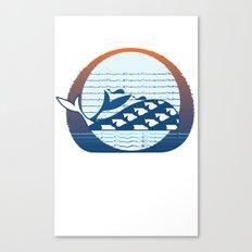 Whale Migration Canvas Print
