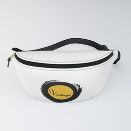 Retro Vintage Vinyl Record 70s Gift Fanny Pack