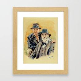 The Jones Boys Framed Art Print