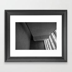 climbs Framed Art Print