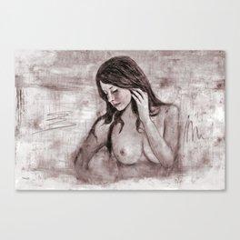 Sensitiv Canvas Print