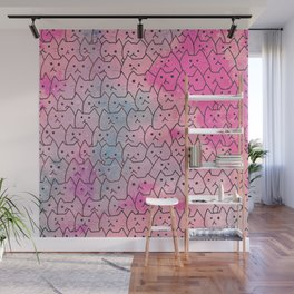cats new colour 626 Wall Mural