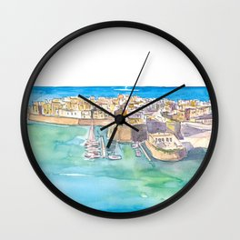 Gallipoli Pearl Of Ionian Sea In Italy Wall Clock
