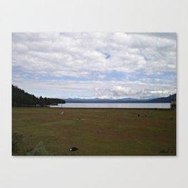 Lake- Vacancy Canvas Print
