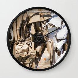 Compacted cardboard & Tiny Tiny Camera Wall Clock